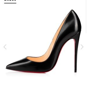 "Christian Louboutin ""So Kate"" leather heels"